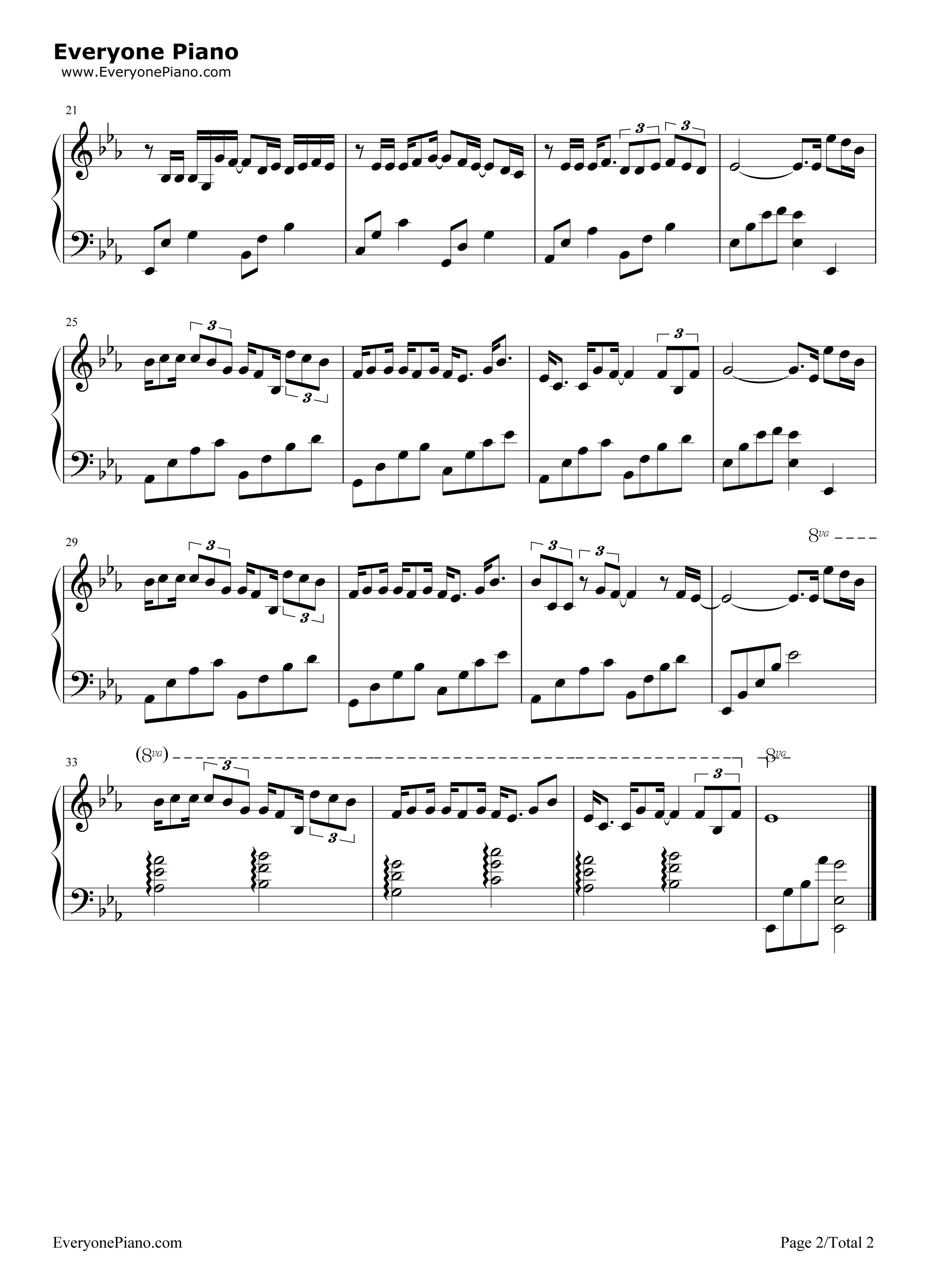 白羊-徐秉龙和沈以诚五线谱预览2-钢琴谱档(五线谱