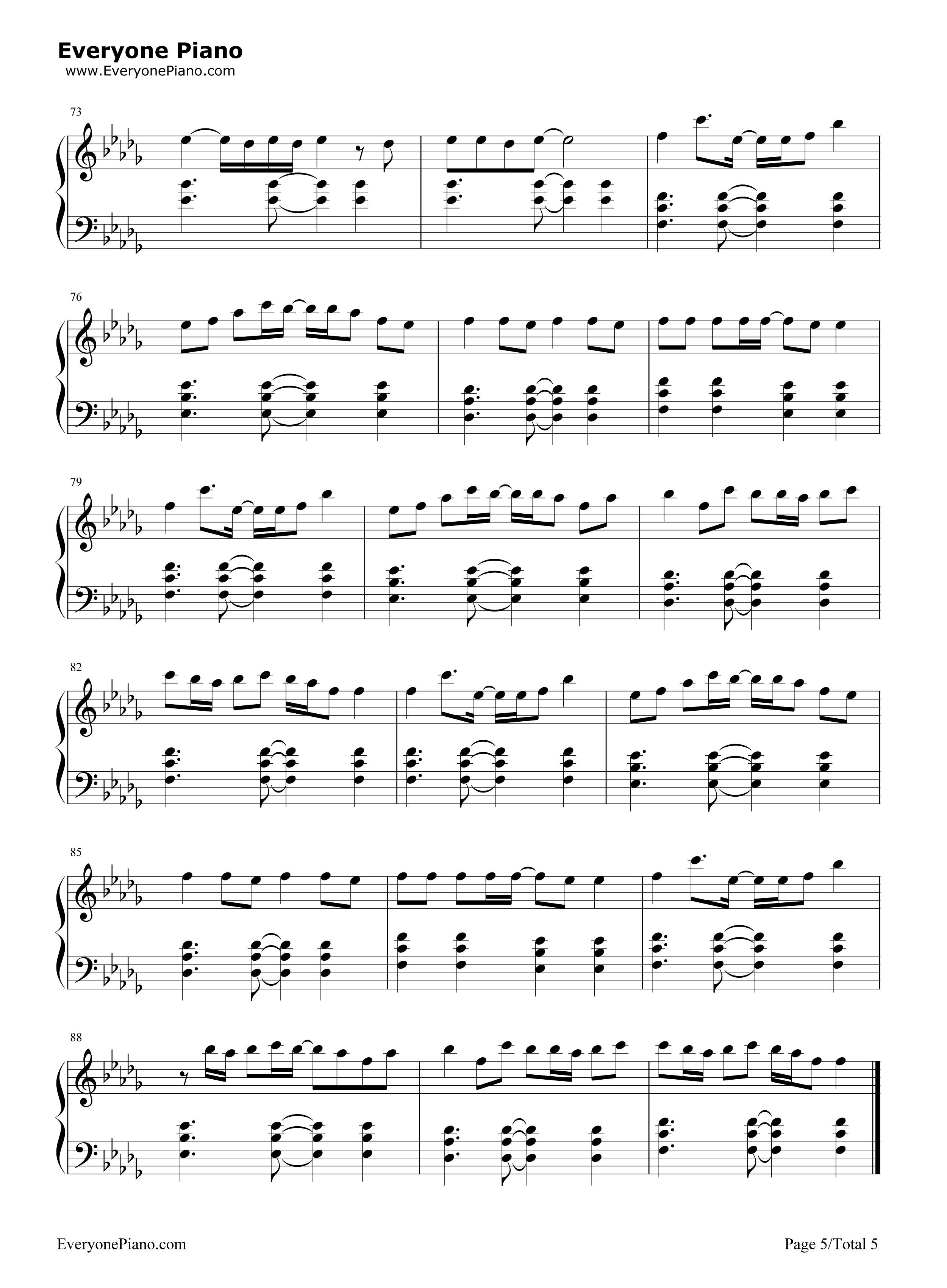 小棋童-双笙五线谱预览5